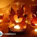 Podzimní lucernička z listů – návod