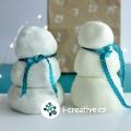 Sněhová modelína ze dvou ingrediencí