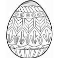 Velikonoční omalovánky k vytisknutí